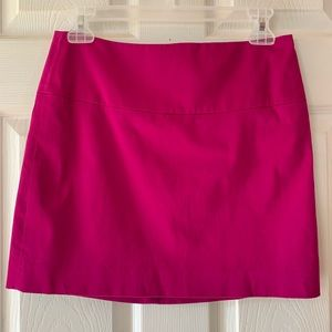 Express Design Studio Magenta Mini Skirt size 0